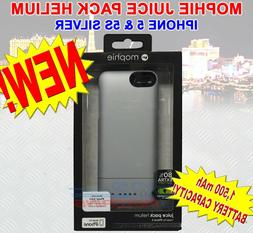 mophie juice pack Helium for iPhone 5/5s/5se  - Silver