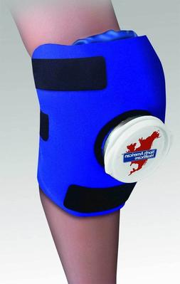 Knee Ice Bag Wrap Adjustable Removable Ice Pack North Americ
