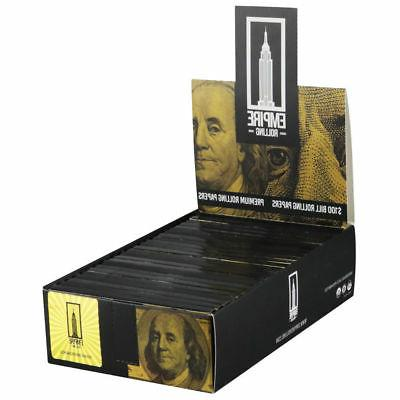 Empire $100 King - 5 PACKS - Rolling Papers Rick