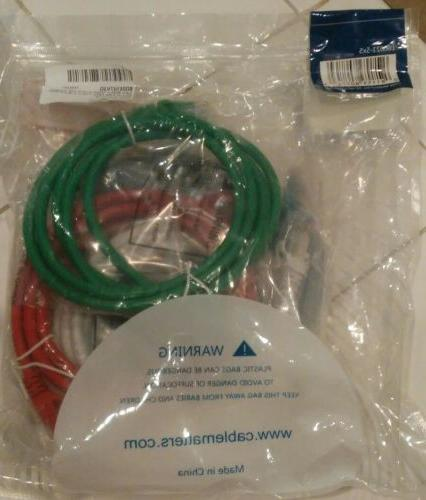 Cable Matters 160021 Cat6 Snagless Ethernet Pack of E20