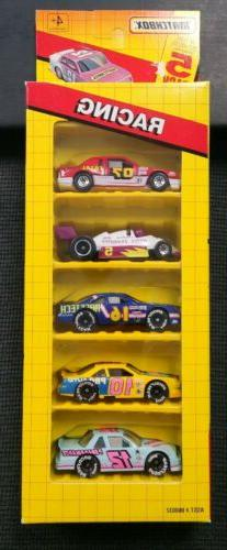 1992 MATCHBOX RACING 5 PACK DIECAST 1:64 NEW VINTAGE TOYS