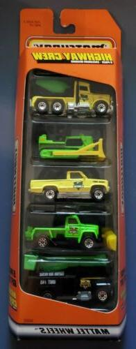 Matchbox 1998 Highway Crew Exclusive 5 Pack Gift Set! New!