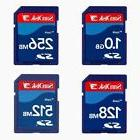 Sandisk 1GB 512MB 256MB 128MB SD Card with Case