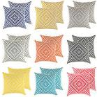 2 pack throw pillow covers in cotton