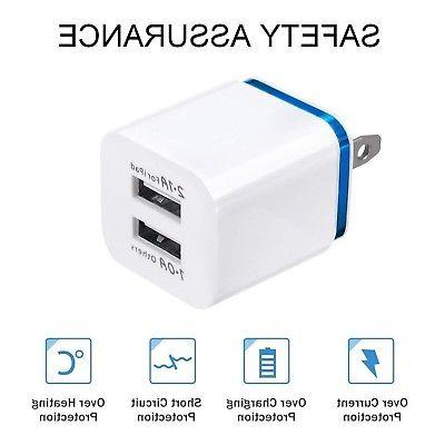 2-Port 2.1A USB Charger Travel Power
