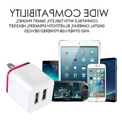 2-Port 2.1A Charger ML Portable Travel Adapter