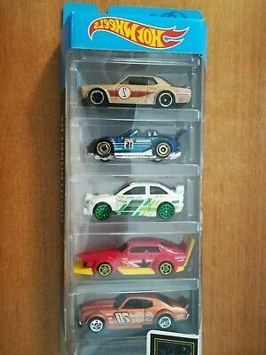 2019 Hot Wheels Nightburnerz 5 Pack Nissan Skyline H/T 2000