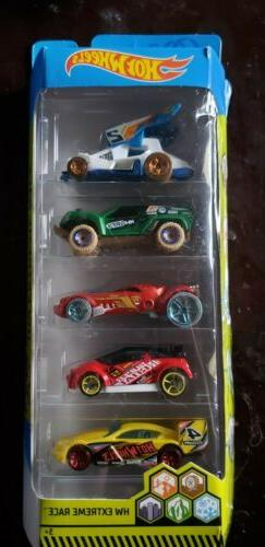 2019 Hot Wheels ~ HW Extreme Race ~ 5 Pack ~ NOB