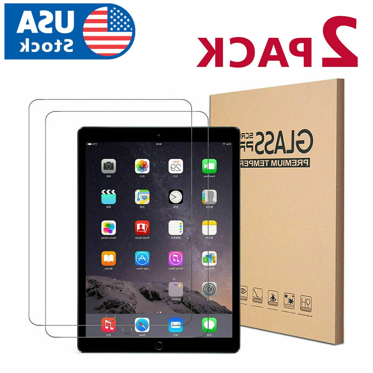 2pack tempered glass screen protector for ipad