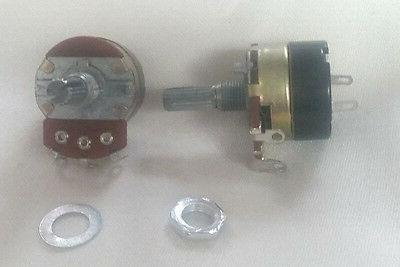 3 pack potentiometer 24mm b50k w 5a