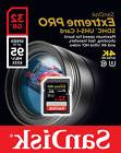 SanDisk 32GB 3264G Extreme PRO SD SDXC Card 95MB/s Class 10