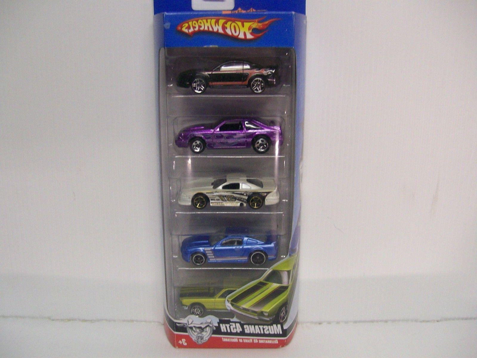 Hot Wheels 45th Mustang Anniversary 5 pack