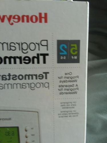 Honeywell 5-2 Programable Thermostat 4 Pack