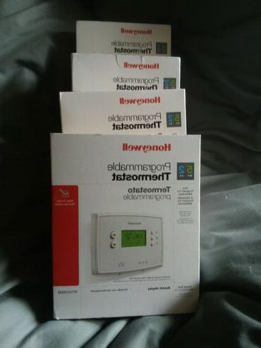 5 2 day programable thermostat 4 pack