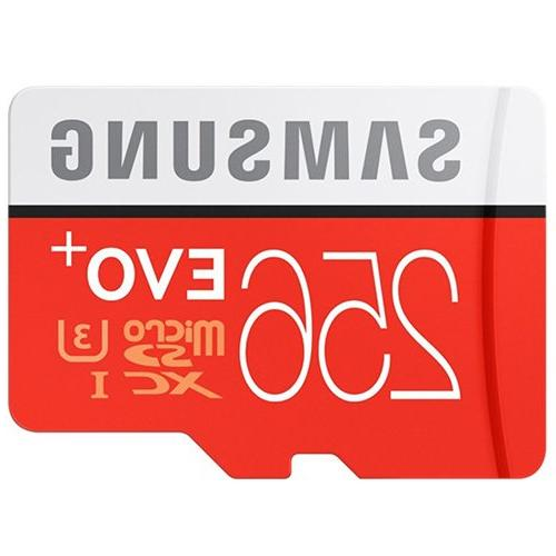 5 256GB 10 UHS-3 Mobile Memory Card OF 5 with ultra high speed 3.0 MemoryMarket MicroSD Memory Card Reader