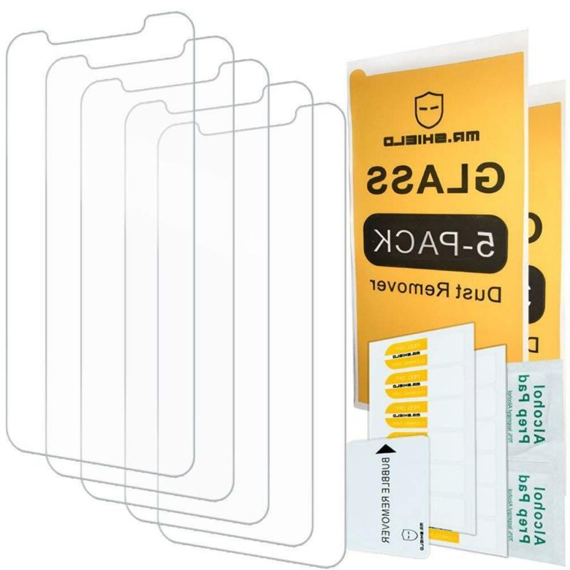 - Mr Shield For Iphone X/Iphone Xs  Screen Protector [0.