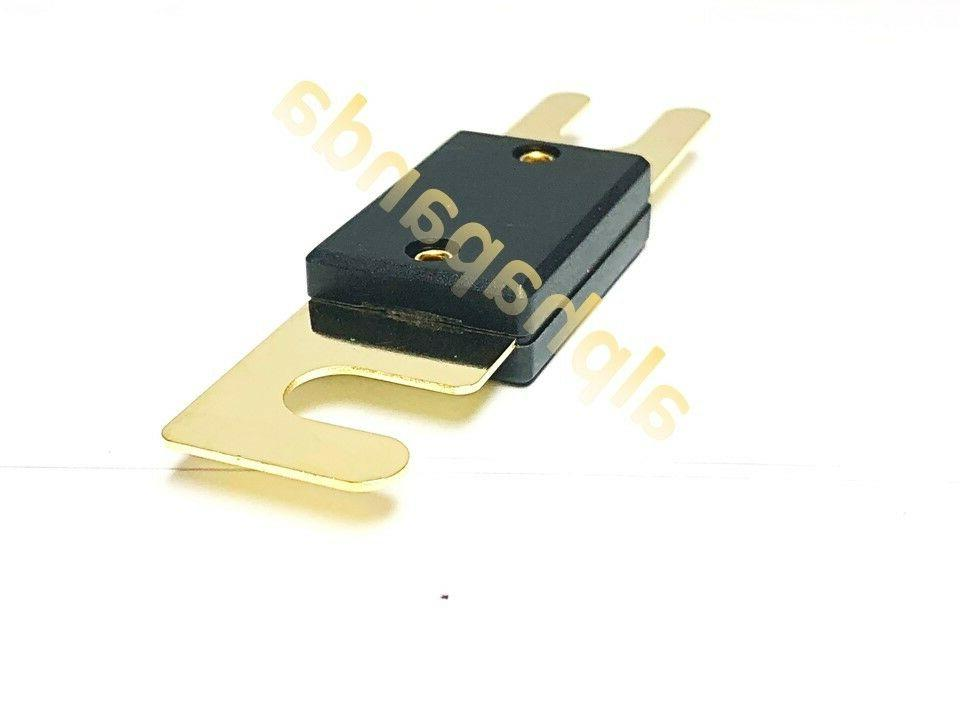 Amp 60A Stereo Audio ANL Blade Fuse Power