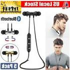 5-PACK Magnetic Wireless Bluetooth 4.2 Sports Earphone lot f