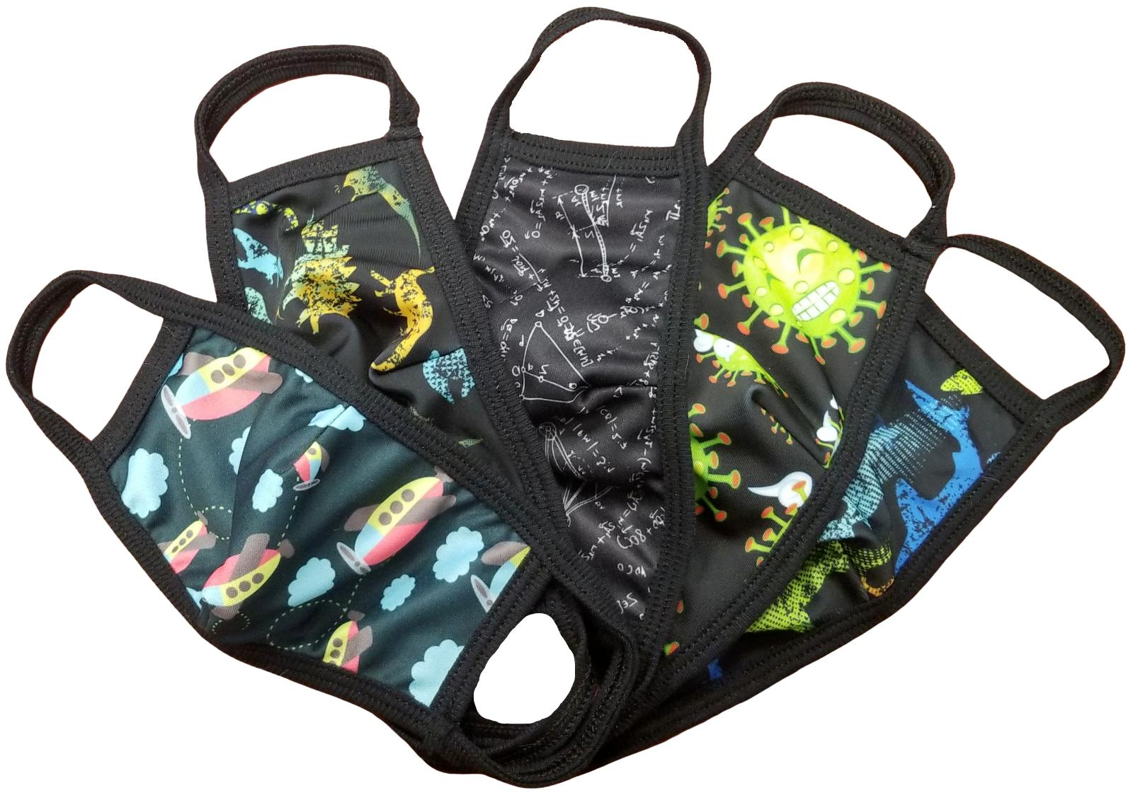 5 pack sookie boys washable reusable protective