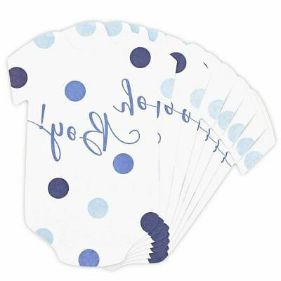 50-Pack Baby Boy Shower Predictions Advice Games for x