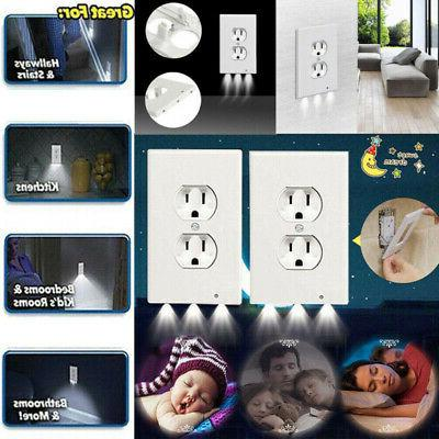 5Pack/Set Duplex Cover Wall Plate Led Night Light