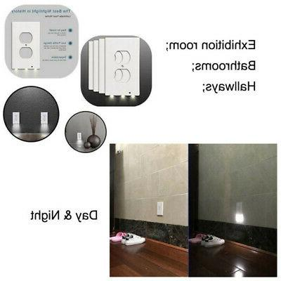 5 Night Duplex Outlet Cover with Sensor