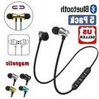 5X Magnetic Wireless Bluetooth 4.2 Sports Earphones Headphon
