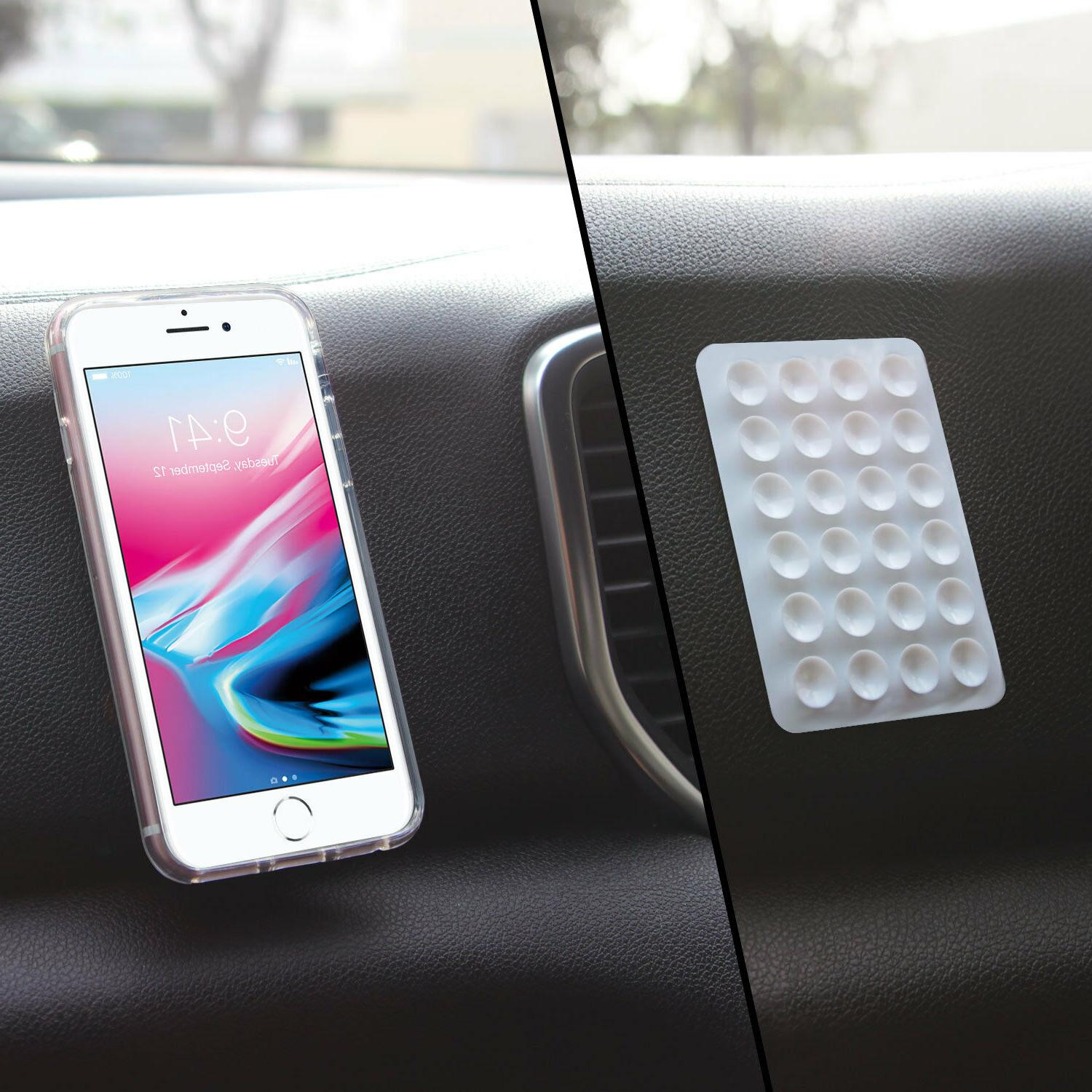 5x Strong 3M Adhesive Mini for Phone,Charger Bank, Car Dashboard