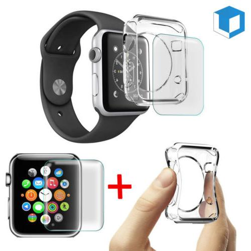 Apple Watch Series 3 / 2 Tempered Glass Screen Protector+Sof