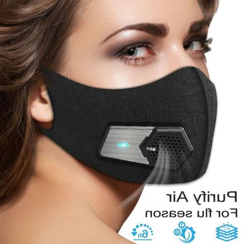 Fresh Air Supply Smart Electric Face Mask Air Purifying N95
