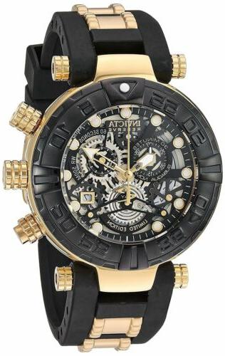 Invicta 23460 Men's Subaqua Chronograph 47mm Black Dial Watc