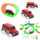 Magic Race Track Glow in the Dark Light Up Vehicles LED Cars