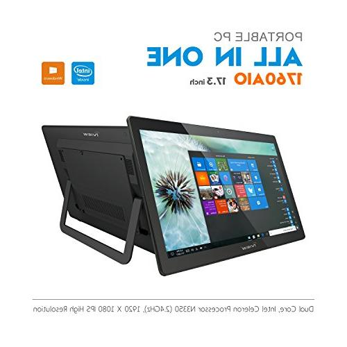 """New iView 1760AIO All in One Computer/Tablet, 17.3"""" IPS 1920"""