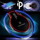 Qi Wireless Charger Charging Pad for iPhone X/8/8+ Samsung G