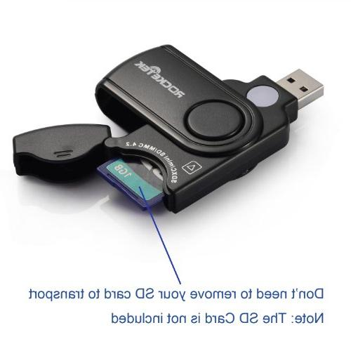 Rocketek 11 in 1 USB 3.0 Memory Card Reader / Writer with a