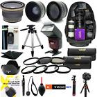 SONY ALPHA A6000 PREMIUM HD 40.5MM ACCESSORIES KIT LENSES TR