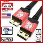 Samsung Galaxy Note 3 S5 Micro USB 3.0 Cable Data Charger Co