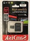 SanDisk 128GB EXTREME PLUS 100 4K A1 667x w/Adapter Sealed G