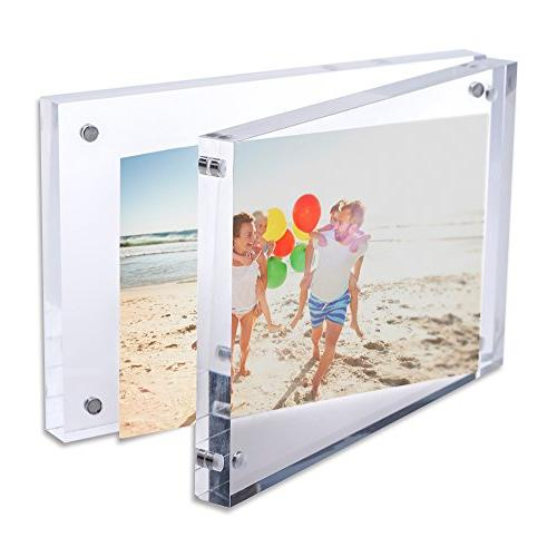TWING Premium Frame Magnet Photo Frame )
