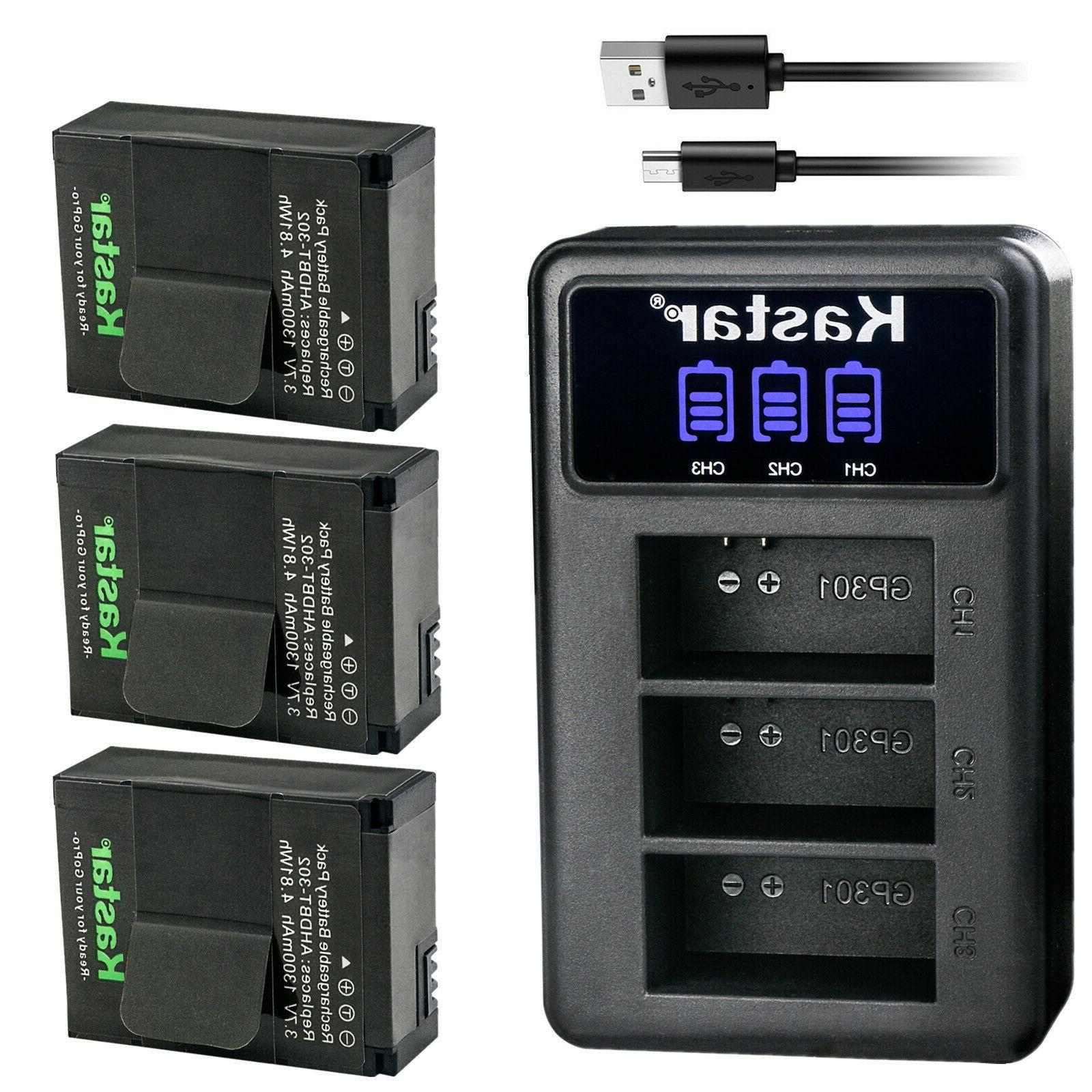 ahdbt 301 battery 3 pack and fast