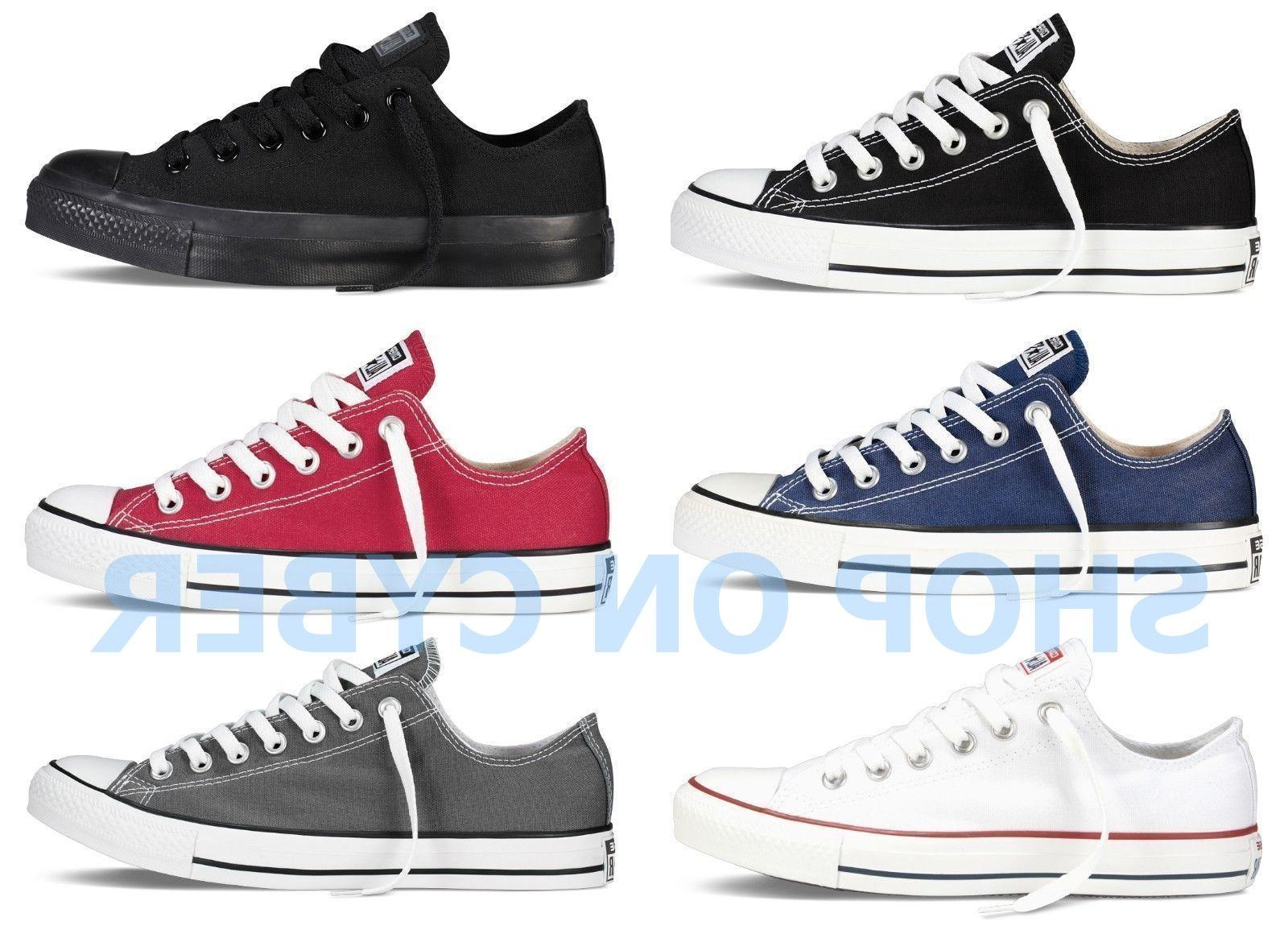 Converse All Star Chuck Taylor Canvas Shoes Low Top Brand Ne