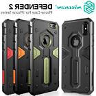 For Apple iPhone XS/X/8/7 Plus 6s Tough Shockproof Armor Hyb
