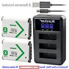 Kastar Battery Triple Charger for Sony NP-BX1 & Sony Cyber-s