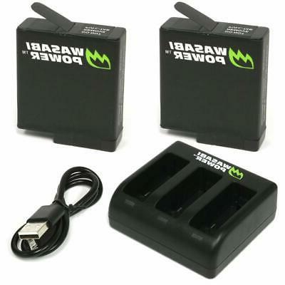 battery triple usb charger