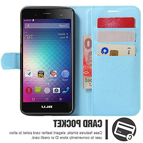 Gzerma HD with Protector, Lightweight PU Wallet with and Film Advance 5.0 HD / Dash X2