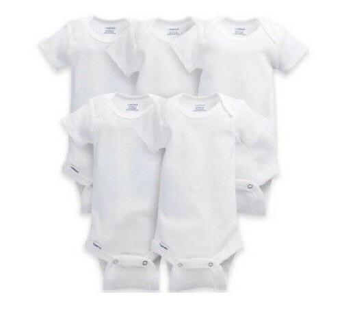 bonus 5 pack unisex short sleeve white