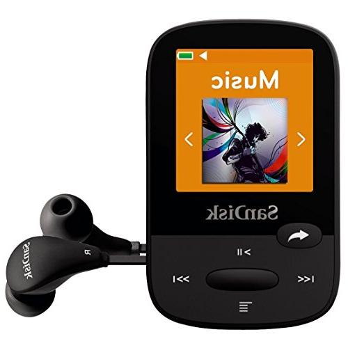 SanDisk MP3 Player, With LCD and Card Slot