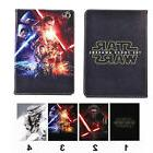 Cute Star Wars Hero Folio Leather Mangetic Case Stand Cover