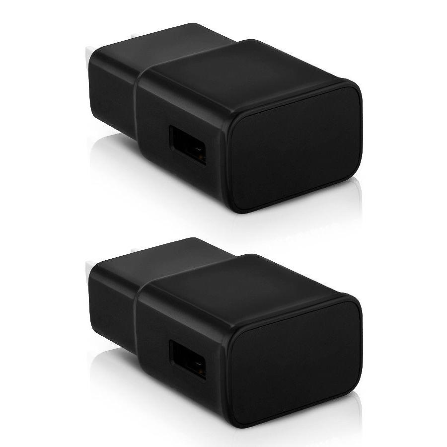 2-Pack USB 5V 2.1Amp USB Wall Charger Home Adapter Tablets P