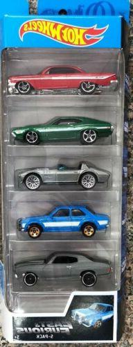 Hot Wheels Fast & Furious 5-Pack Chevelle Escort Corvette Im